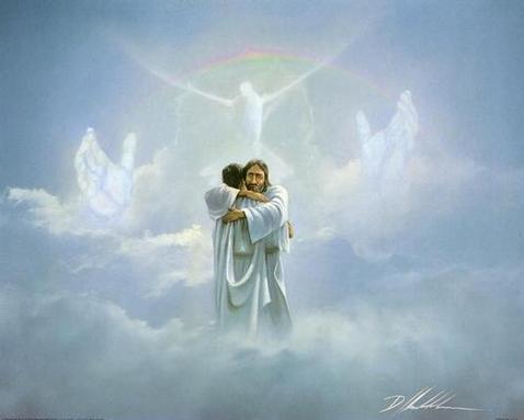 Jesus in heaven jesus photo