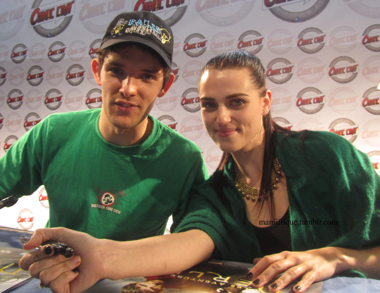 Colin Morgan And Katie Mcgrath Images Lovely Couple Hd