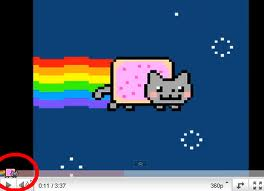 nyan cat progress bar