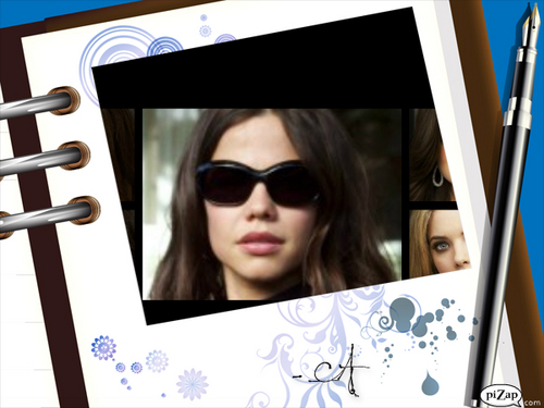 Pretty Little Liars wallpaper possibly containing sunglasses titled pll <3