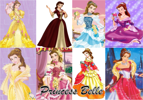 Beauty and the Beast wallpaper called princess belle