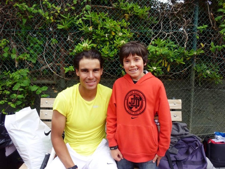 rafa with child 2011 - Rafael Nadal Photo (24762307) - Fanpop