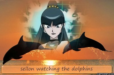 sellon watching the dolphins^^