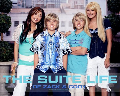 The Suite Life of Zack & Cody 바탕화면 entitled the suite life of zack and cody