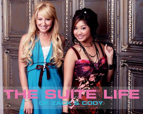 The Suite Life of Zack & Cody 바탕화면 with a 공식 만찬, 저녁 식사 dress and a bridesmaid entitled the suite life of zack and cody