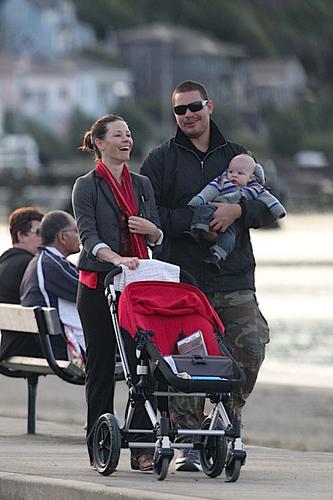 vangeline and Norma Kali and his son in Wellington, New Zelandia, 21/08/2011