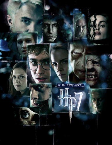 'HP7' poster - 'LOST' style