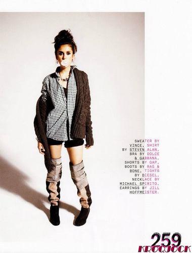 ♥Nina in Nylon September 2011♥