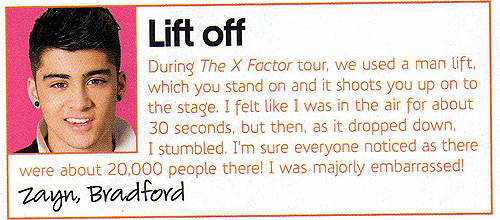 ♥One Direction in 'TOTP' magazine! [Scans]♥