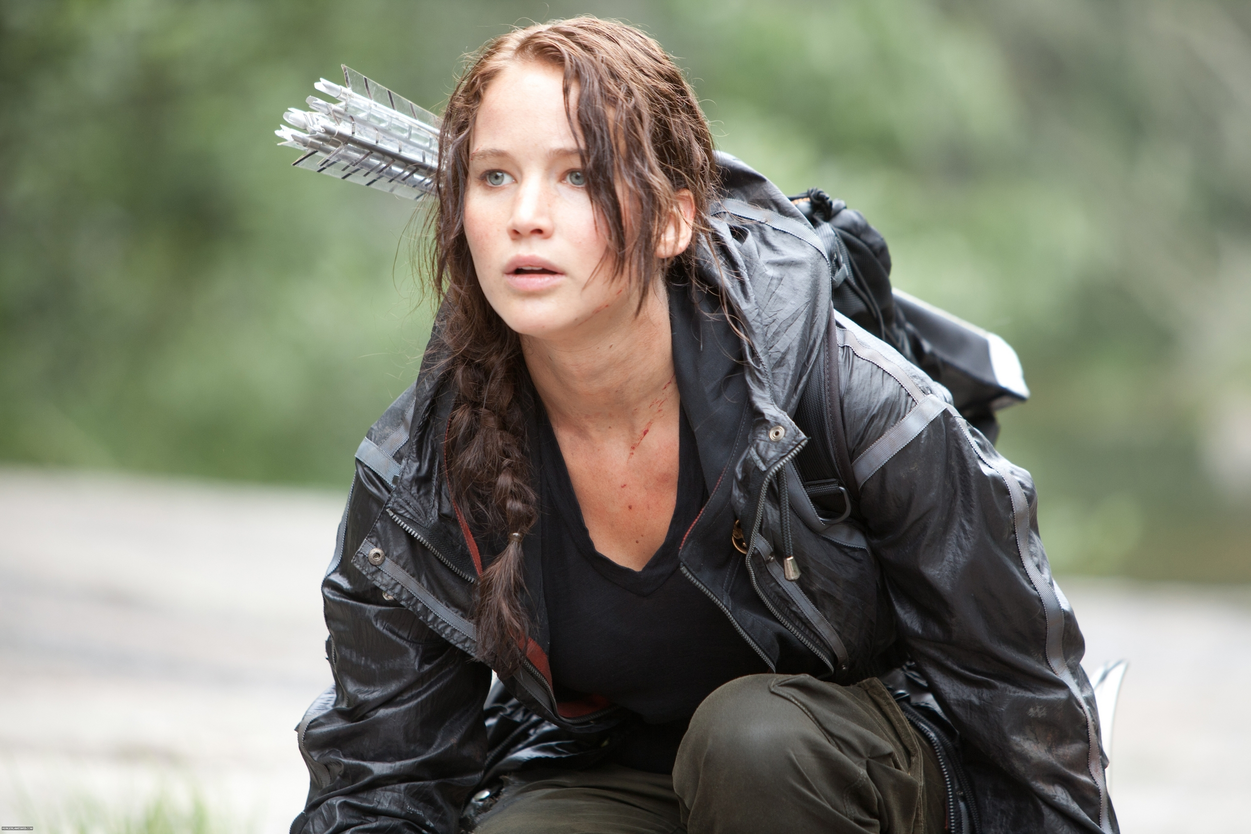 The Hunger Games Stills Katniss Everdeen Photo