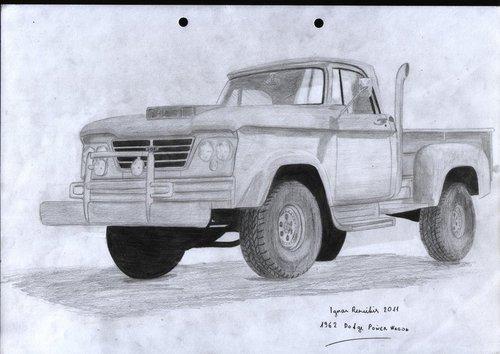 1962 Dodge Power Vagon