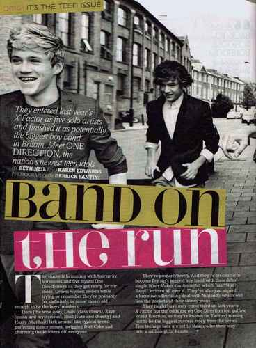 1D in 'Fabulous' Magazine! [Scans] ♥