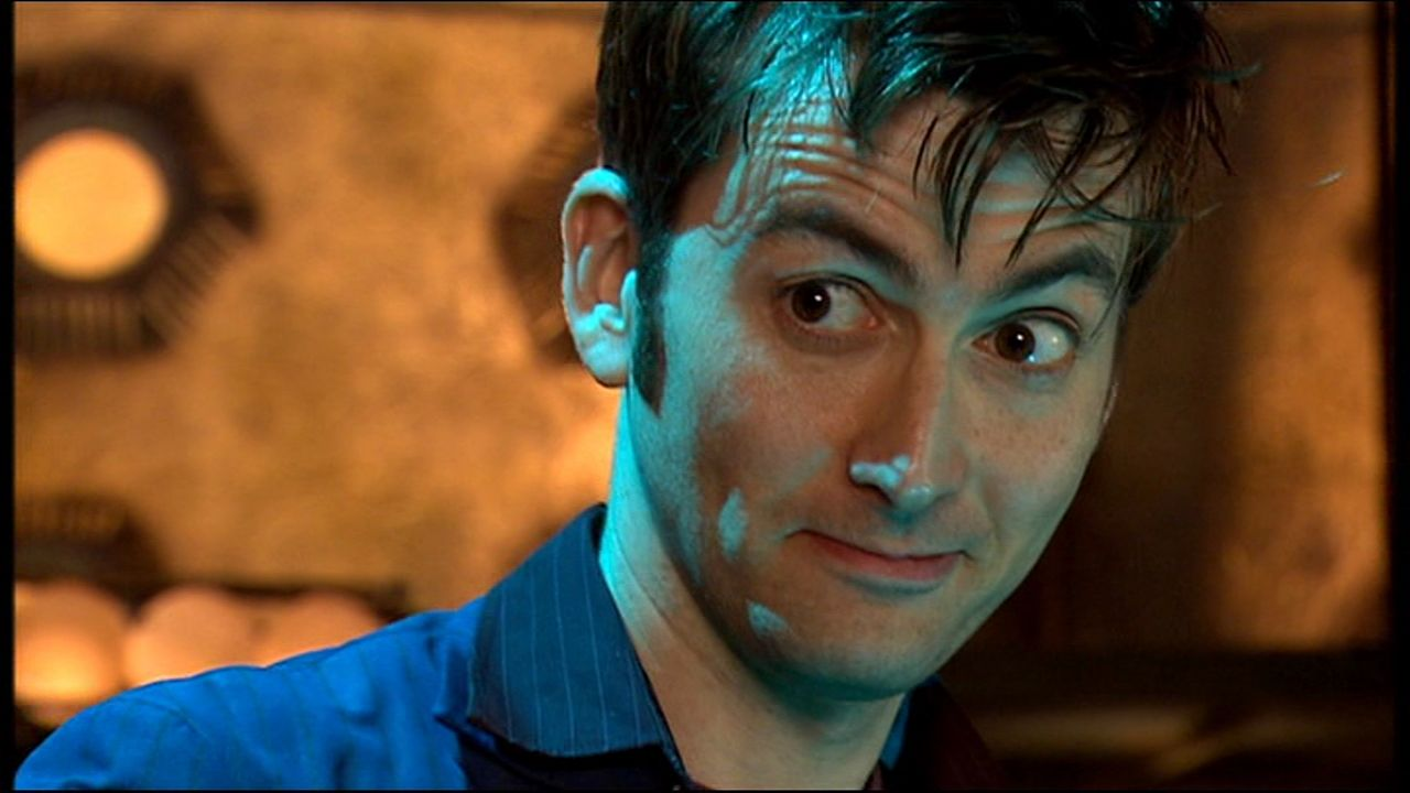 Tenth Doctor Smiling An error occurred