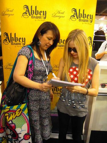 Abbey Dawn at MAGIC Marketplace Convention - Las Vegas 22.08.11