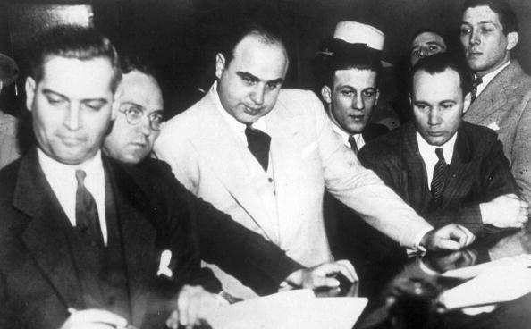an analysis of the background of alphonse capone