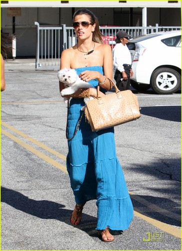 Alessandra Ambrosio: Chic at Chateau Marmont