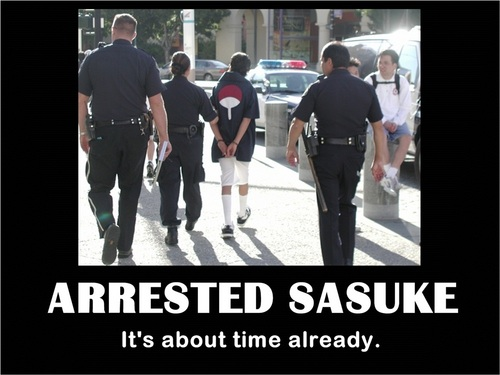 Arrested Sasuke