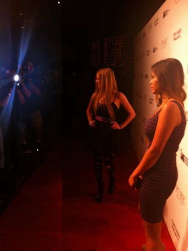 Avril Lavigne At Abbey Dawn Clothing Party Pure Nightclub