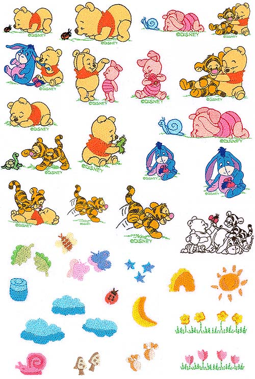Baby Pooh Sewing