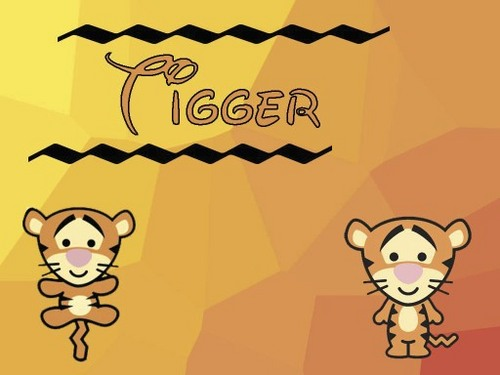 Baby Tigger Cuties Wallpaper