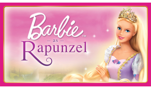 バービー as Rapunzel