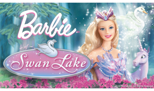 Barbie of zwaan-, zwaan Lake