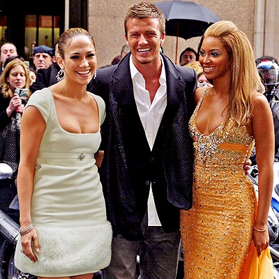 Beckham Beyoncé J.Lo for Pepsi
