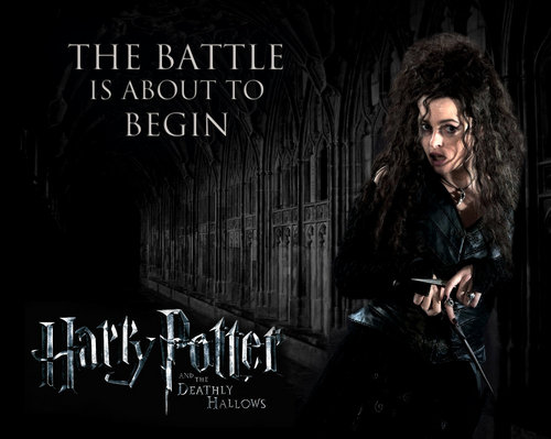 Bellatrix in Hogwarts