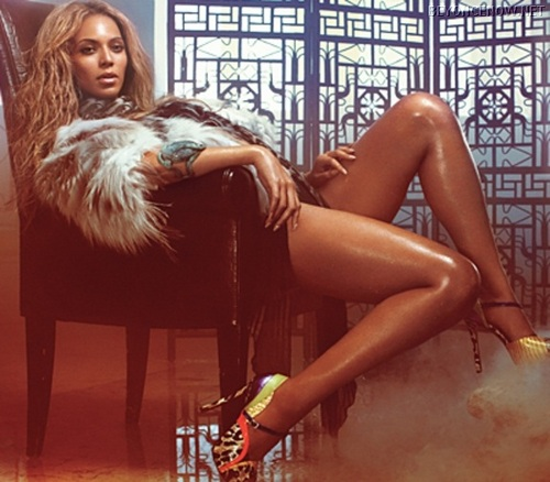 Beyonce - Photoshoots - InStyle 2011