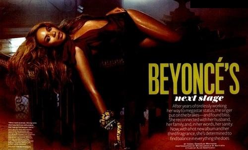 Beyoncé - Photoshoots - InStyle 2011