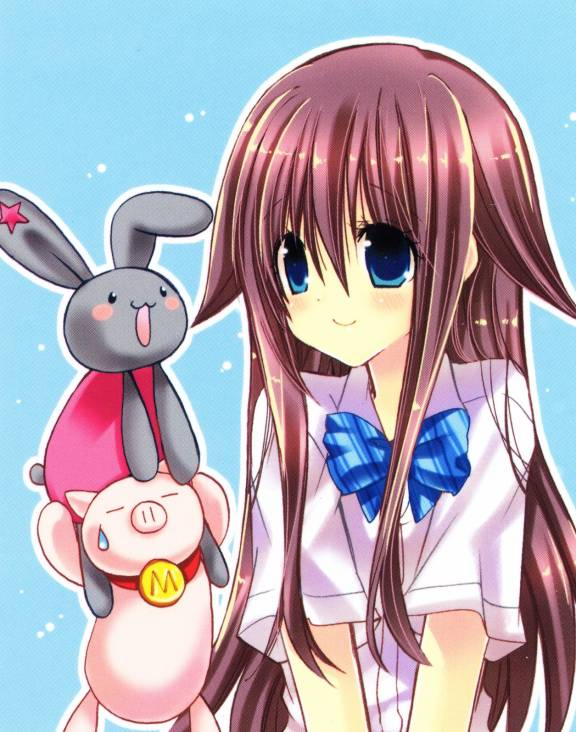 I Am Here Images Black Rabbit Mega Pig Hikage Hd Wallpaper And