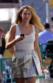 Blake Lively on Gossip Girl set in NYC- August 24th