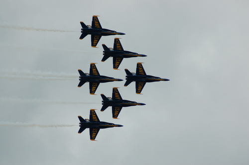 Blue angeli