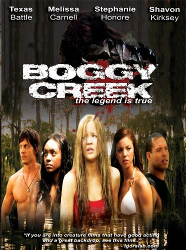 Boggy Creek DVD Cover