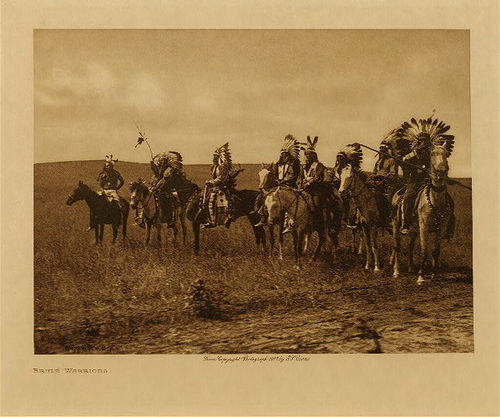 Brule Warriors 1907