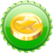 Gold Coin Cap - fanpop-caps icon