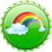 Rainbow Cap - fanpop-caps icon