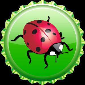 Ladybug kappe