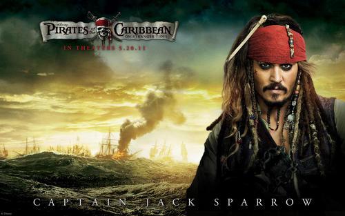 Captain Jack Sparrow potc4
