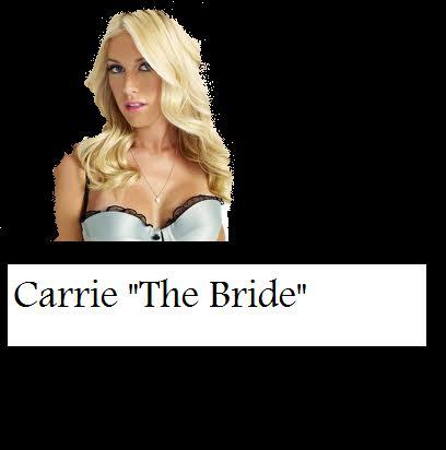 "Carrie ""The bride"" Season 2!"