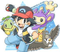Чиби Ash & Pokemon