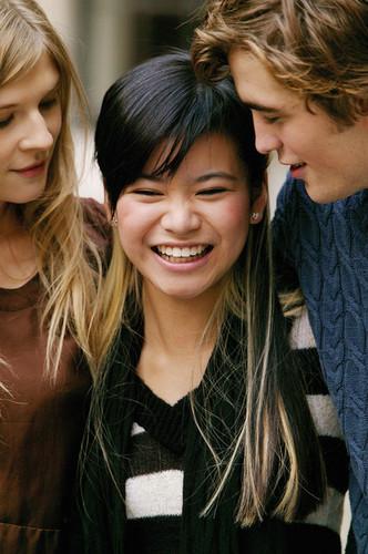 Cho, Fleur and Cedric