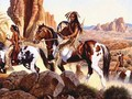 Comanche War-Party - native-americans photo