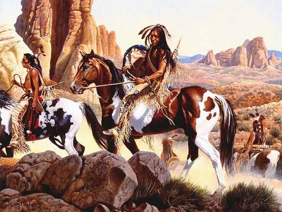 Comanche War-Party