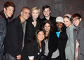 Cory, Chris and the Glee cast:)