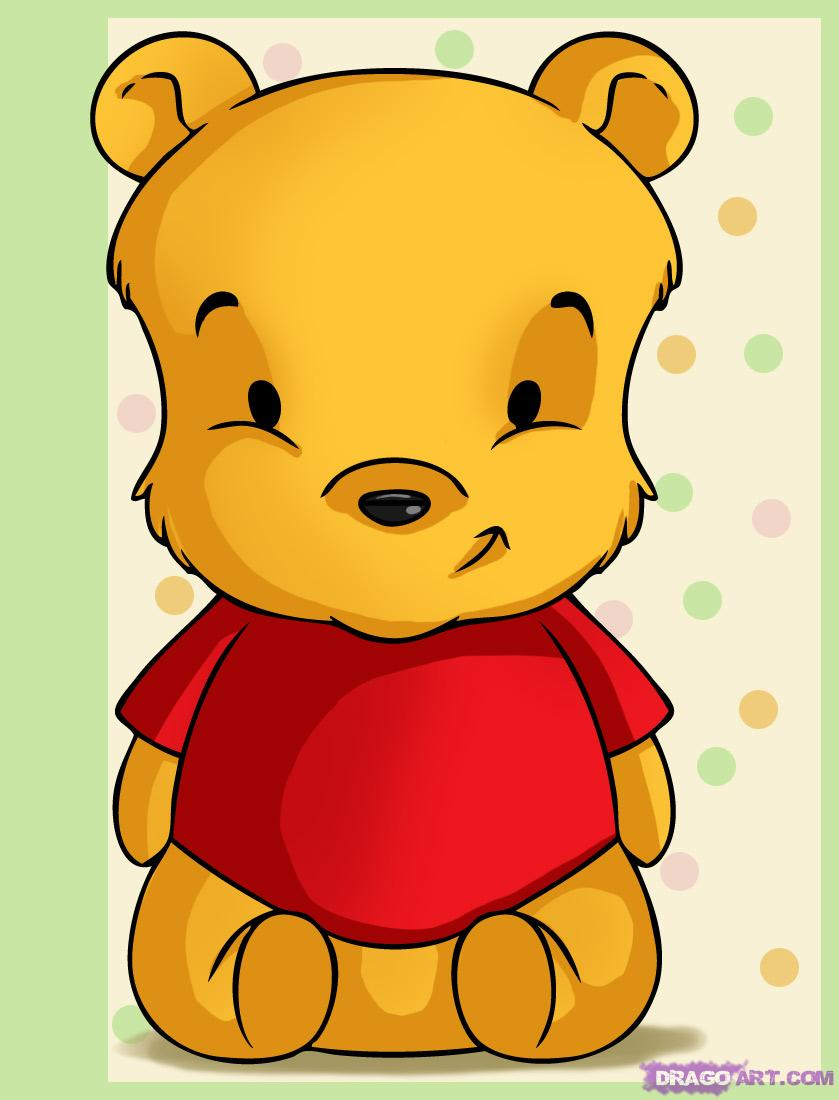 baby pooh images cute baby pooh drawing hd wallpaper and background