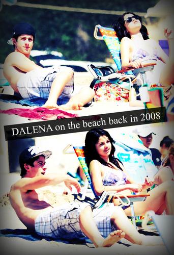 Dalena on the bờ biển, bãi biển