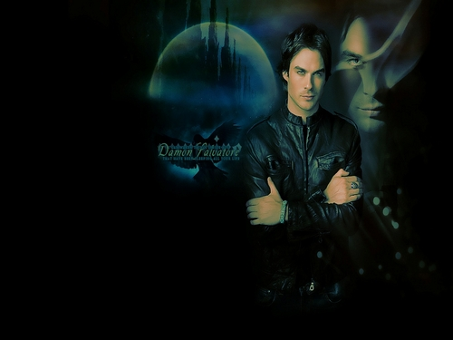 Damon Salvatore wallpaper possibly containing a concert entitled Damon Salvatore ✯
