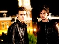 Damon&amp;Stefan  - damon-and-stefan-salvatore wallpaper