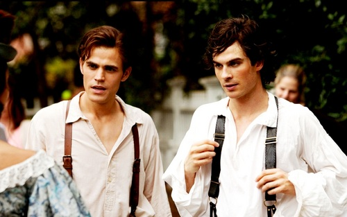 Damon and Stefan Salvatore 壁紙 called Damon&Stefan ✯